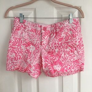 Lilly Pulitzer pink shorts Women's size 000